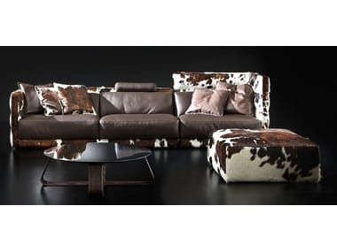 LAYER   Contemporary Style Sectional Upholstered Modular Leather Sofa.  Catalogues. Italy Dream Design ...