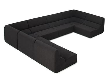 Sectional fabric sofa LAYOUT | Sectional sofa