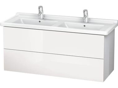 Mobile lavabo doppio con cassetti LC 6267 | Mobile lavabo doppio