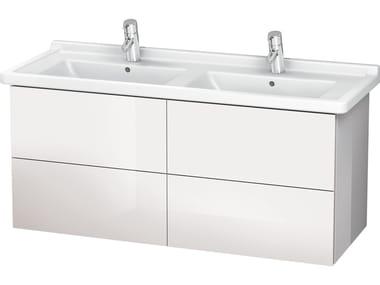 Mobile lavabo sospeso con cassetti LC 6269 | Mobile lavabo doppio