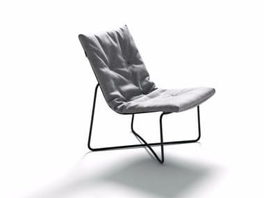 Cadeira lounge de tecido com estojo removível LC03