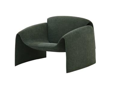 Fabric armchair with armrests LE CLUB | Fabric armchair