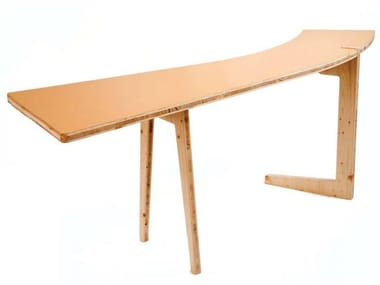 Wooden writing desk LE HASARD | Wooden writing desk