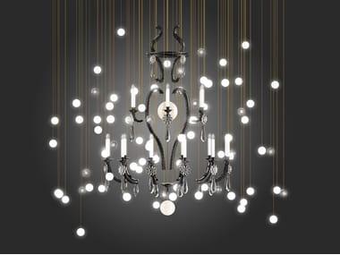 LED blown glass chandelier LE MERVEILLEUX | Chandelier
