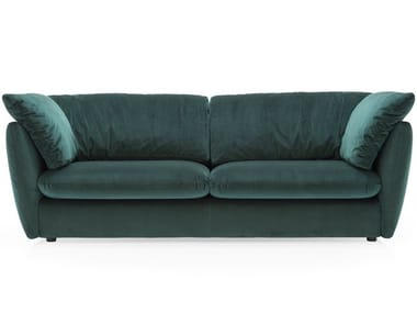 Velvet Sofa With Removable Cover LEAF