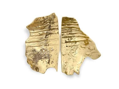Brass pull handle LEAF EA1053