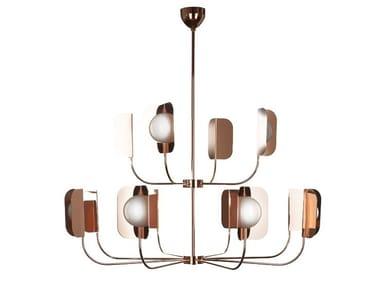 Copper chandelier LEAF | Chandelier