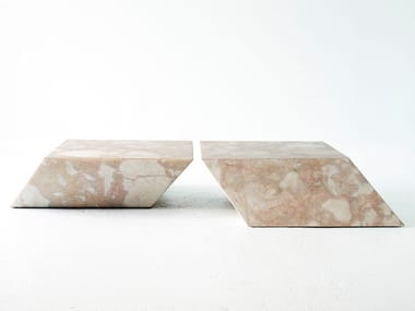 Square marble coffee table LEAN ON ME