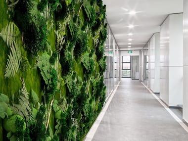 Jardin vertical de vegetais estabilizados LEAVES