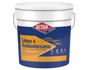 Pittura murale a base di silicato di potassio LEBEN E' AMBIENTESANO