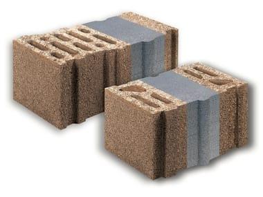Blocchi da muratura termoisolanti