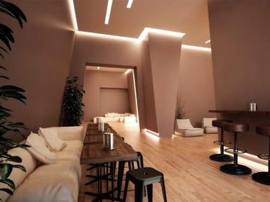 Profilo LED angolo a luce indiretta LED 002