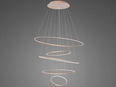 LED aluminium pendant lamp LED RINGS NO.5