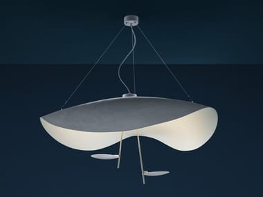 LED pendant lamp LEDERAM MANTA S2