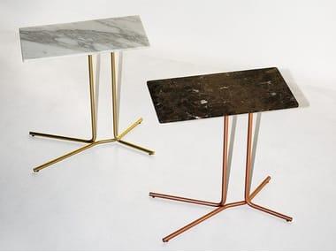 Rectangular side table LEDGE