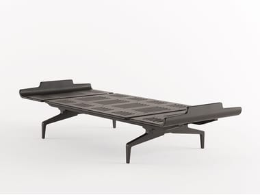 Lit simple en aluminium et bois LEGNOLETTO 090 - LL1_090