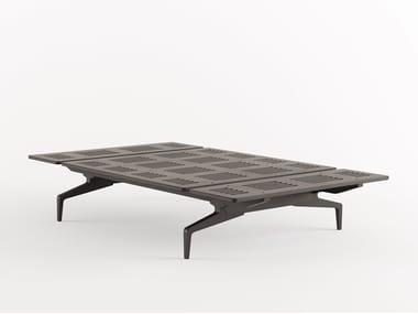 Letto in alluminio e legno LEGNOLETTO 120 - LL0_120