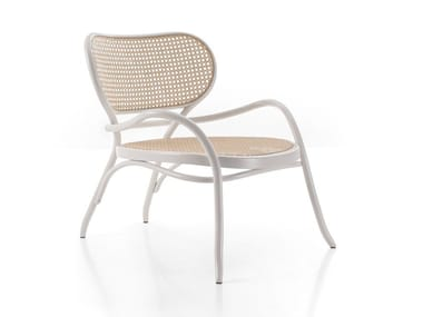 Beech easy chair with armrests LEHNSTUHL   Easy chair