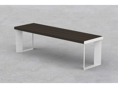 Backless steel Bench LEMMY | Bench