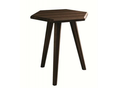 Hexagonal WoodProduct Coffee Tables Archiproducts - Hexagon wood coffee table