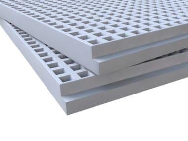 Plasterboard ceiling tiles LEONARDO - LEONARDO ACUSTIC