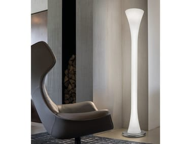 Lámpara de pie de vidrio de Murano LEPANTO PT
