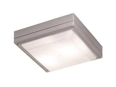 Plafoniera per esterno a LED in alluminio LEROS K