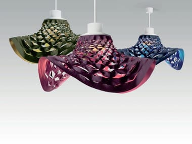 LED direct light fabric pendant lamp LES DANSEUSES