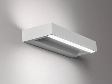 Plaster wall lamp LEUKAS