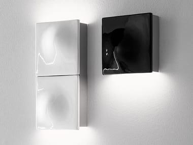 Applique a LED a luce indiretta in alluminio termolaccato LEVEL