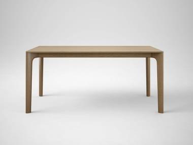 Extending rectangular oak table LEVEL
