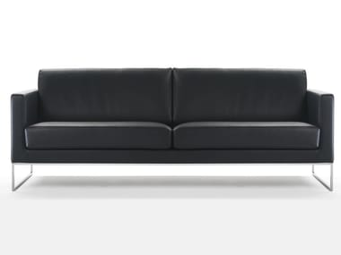 3 seater leather sofa LEWIS | Sofa