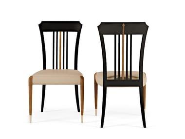 Sedia in legno con cuscino integrato LEXINGTON AVENUE   Sedia