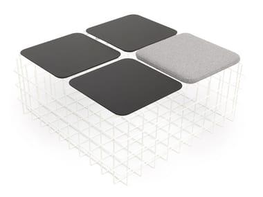 Iron stool / coffee table LEYVA PLUS