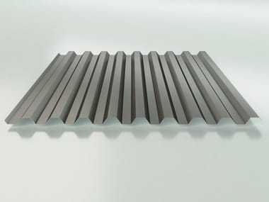 Metal sheet and panel for roof LG 28