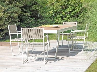 Rectangular garden table LG