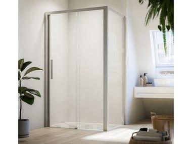 Shower cabin with sliding door LIBERA LH