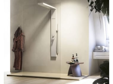 Walk in shower with column LIBERA LK1