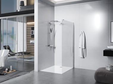 Crystal Walk in shower LIBERO 3000