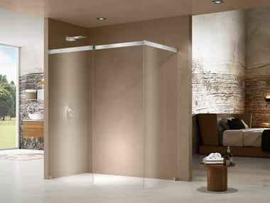 Box doccia angolare in cristallo LIBERO 5000 | Box doccia angolare