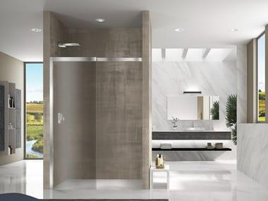 Box doccia a nicchia in cristallo LIBERO 5000 | Box doccia a nicchia