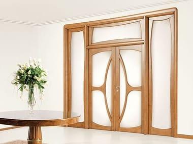 Wood and glass door LIBERTY