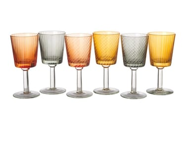 Glass glasses set LIBRARY | Glasses set