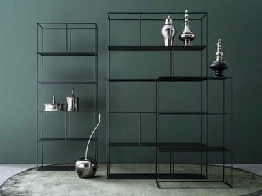 Open double-sided bookcase LIBRERIA 80/120