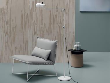 Fabric easy chair LIBRO