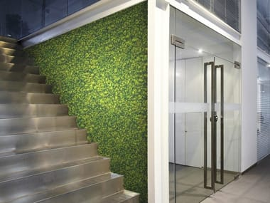Jardins verticais interiores