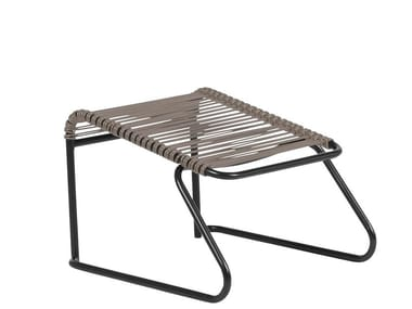 Sled base metal footstool LIDO | Footstool
