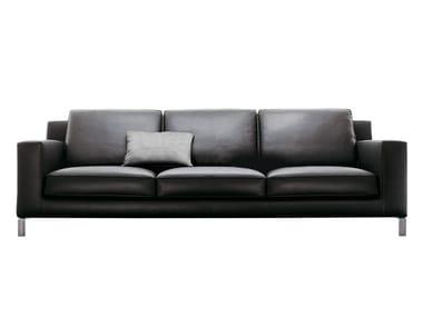 3 seater leather sofa LIDO | Sofa