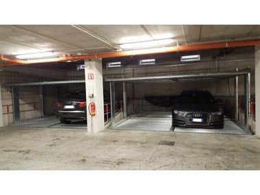 Automatic parking systems LIFTPARKER,KIPPARKER E QUADROPARKER