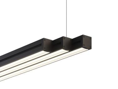 Lampada a sospensione a LED in alluminio anodizzato LIGHT GLIDE